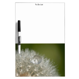 タンポポの水滴 ホワイトボード