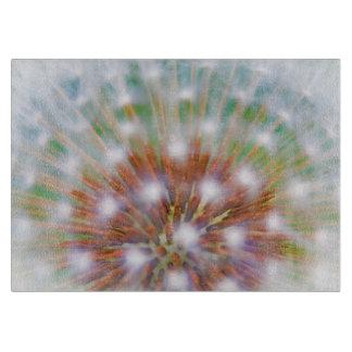 タンポポの種の頭部の抽象芸術 カッティングボード