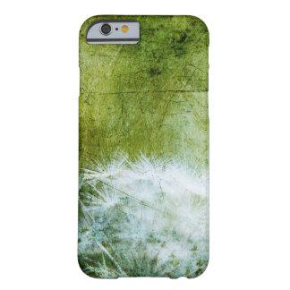 タンポポの緑花の芸術の電話箱 BARELY THERE iPhone 6 ケース