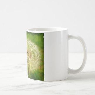 タンポポの願い及び孔子の引用文 コーヒーマグカップ