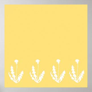 タンポポの黄色 ポスター