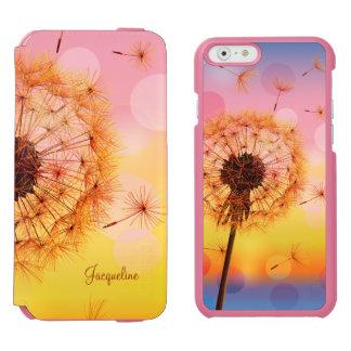 タンポポは願いの春を作ります INCIPIO WATSON™ iPhone 5 財布型ケース