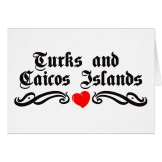タークス諸島とケーコス諸島 カード