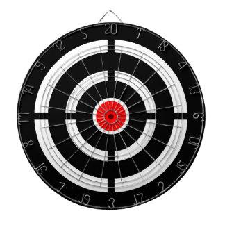 ターゲットの目-中心点のプリント ダーツボード
