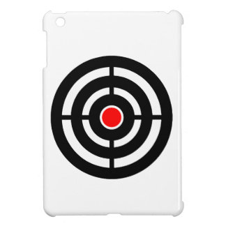 ターゲットの目-中心点のプリント iPad MINIケース