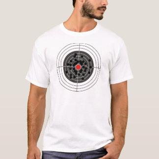 ターゲット-しかしない中心点の弾痕! Tシャツ