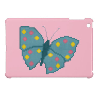 ターコイズによって斑点を付けられる蝶iPad Miniケース iPad Miniケース