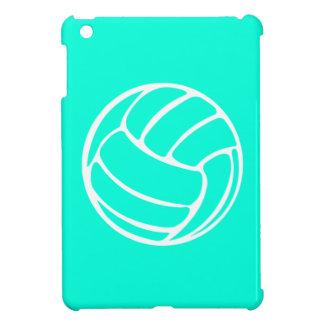 ターコイズのバレーボールのiPad Miniケース iPad Mini Case