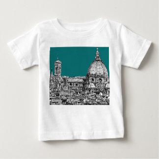 ターコイズのフィレンツェ ベビーTシャツ
