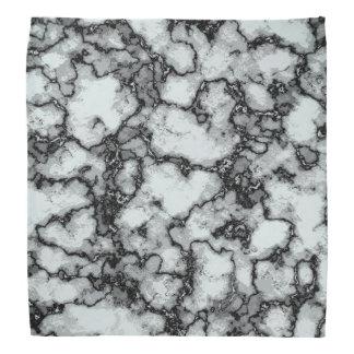 ターコイズの大理石パターン バンダナ