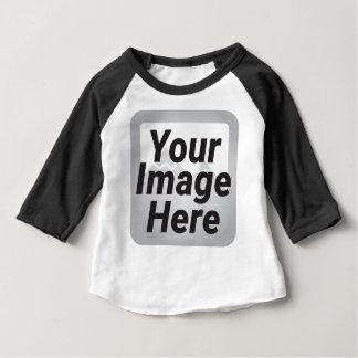 ターコイズの旧式で、素朴な色相の納屋 ベビーTシャツ