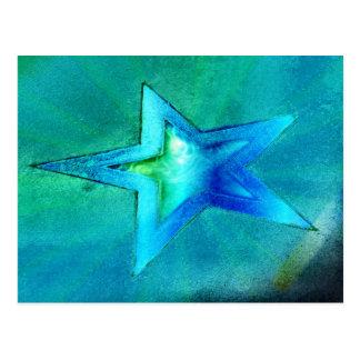 ターコイズの星 ポストカード