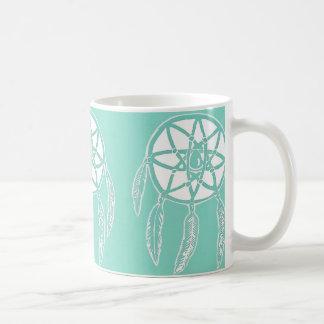 ターコイズの真新しいDreamcatchersのマグ コーヒーマグカップ
