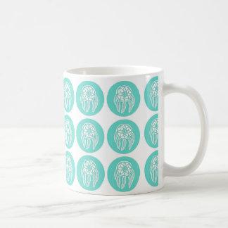 ターコイズの真新しいDreamcatchersパターンマグ コーヒーマグカップ