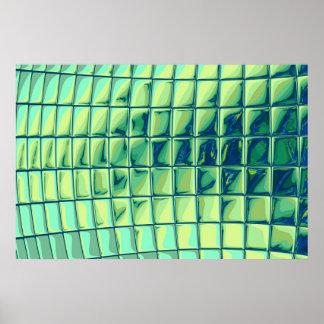 ターコイズの立方体 ポスター