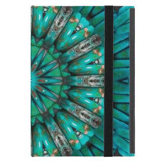 ターコイズの芸術1 Powiscase iPad Mini ケース