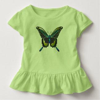 ターコイズの蝶83 トドラーTシャツ