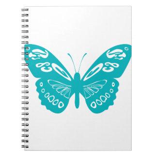 ターコイズの蝶 ノートブック
