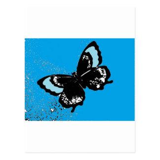 ターコイズの蝶 ポストカード