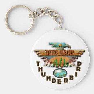 ターコイズの雷鳥 キーホルダー