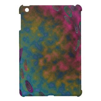 ターコイズの黄色いピンクの回転の質 iPad MINI カバー