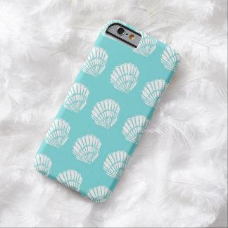 ターコイズのiPhone6ケースの貝殻 Barely There iPhone 6 ケース