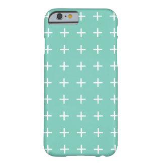 ターコイズのiPhone 6つのケース- Scandiの上品 Barely There iPhone 6 ケース