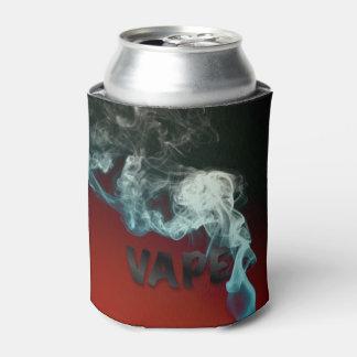 ターコイズのVapeの赤く黒い雲 缶クーラー