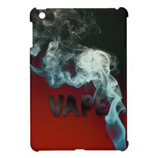 ターコイズのVapeの赤く黒い雲 iPad Mini Case