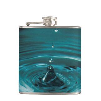 ターコイズ水低下 フラスク
