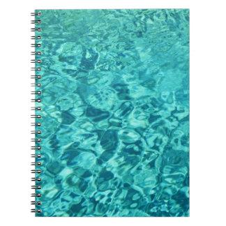 ターコイズ水 ノートブック