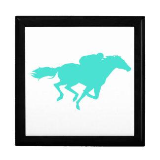 ターコイズ; 青緑の競馬 ギフトボックス
