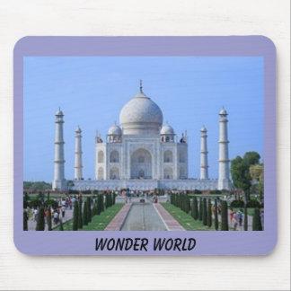 タージ・マハルの驚異の世界 マウスパッド