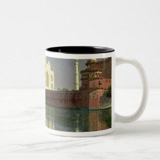 タージ・マハル1874-76年 ツートーンマグカップ
