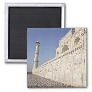 タージ・マハル、Chhatriからの眺めの戴冠させた光塔 マグネット