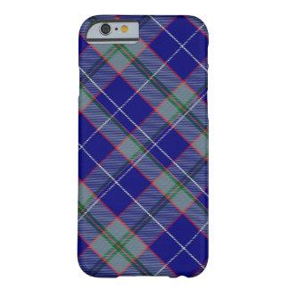 タータンチェックのピーターソンのiPhone 6/6Sのやっとそこに場合 Barely There iPhone 6 ケース