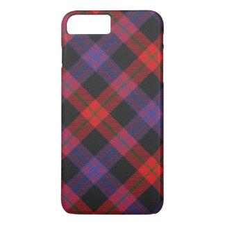 タータンチェックのブラウンのiPhone 7のプラスの場合 iPhone 8 Plus/7 Plusケース