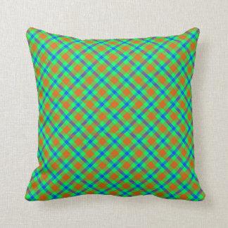 タータンチェックパターン枕 クッション