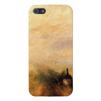 ターナー雨速度の蒸気 iPhone SE/5/5sケース