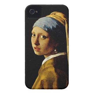 ターバンを持つ女の子か真珠のイヤリングを持つ女の子 Case-Mate iPhone 4 ケース