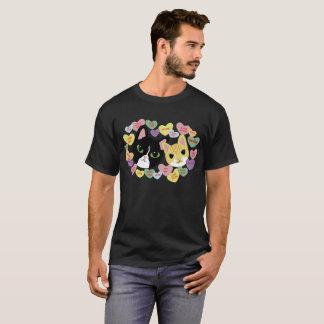 ターボおよびティリーVdayのティー(人) Tシャツ