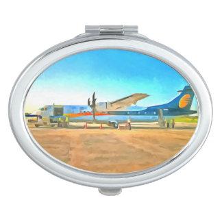 ターボ支柱の飛行機