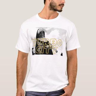 ターボ都市尼僧のティー2を得ます Tシャツ