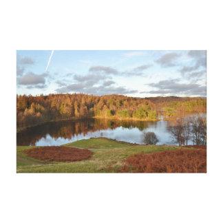 ターンの方法-英国湖地区 キャンバスプリント
