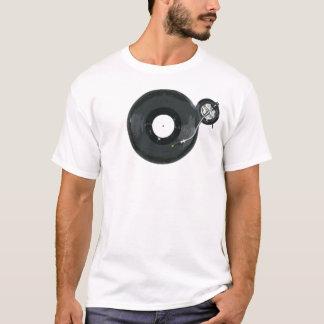 ターンテーブルのワイシャツ Tシャツ