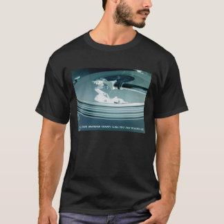 ターンテーブルDJ Tシャツ