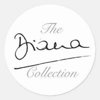 ダイアナのコレクション ラウンドシール