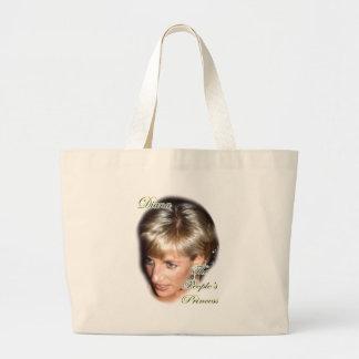 ダイアナ人々の王女 ラージトートバッグ