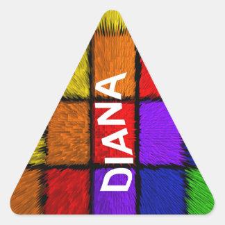 ダイアナ 三角形シール
