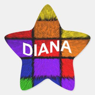 ダイアナ 星シール